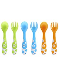 Munchkin 6 Piece Fork and Spoon Set BOBEBE Online Baby Store From New York to Miami and Los Angeles