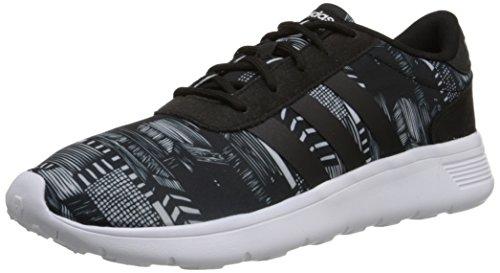 Adidas NEO Women's Lite Racer Running Shoe,Core Black/Black/Running White,9 M US
