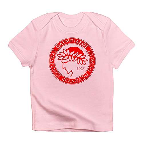 fan products of CafePress - Olympiacos Infant T-Shirt - Cute Infant T-Shirt, 100% Cotton Baby Shirt
