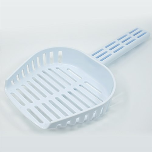 """""""NEW"""" Scoop Ease Cat Litter Scoop. Extremely Durable Scooper with Curved Dimensions for Fast Sifting in Round Trays."""