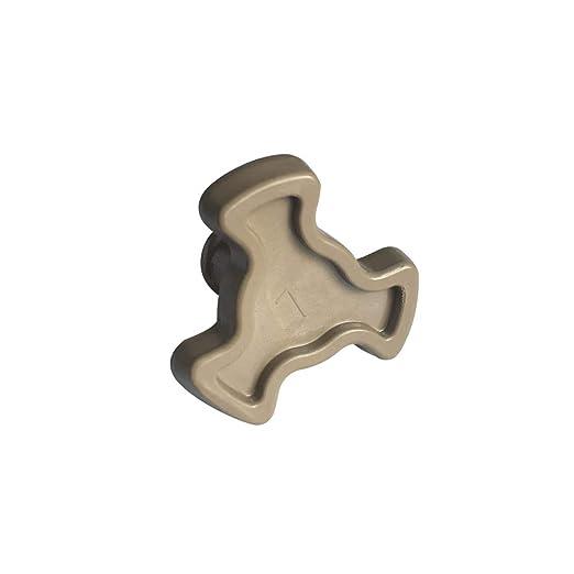 Núcleo giratorio de microondas para rotor, accesorios internos para horno microondas, soporte tipo Y, material PP, apto para una variedad de marcas de ...