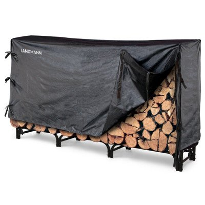 Landmann 82443 Firewood Rack with Cover - 8 Feet by Landmann (Image #1)