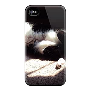 Snap-on Case Designed For Iphone 4/4s- Cat In The Sun