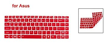 Amazon.com: Portátil vermelho claro Protector de teclado para Asus U80 U81 UL80 N82 UL30: Electronics