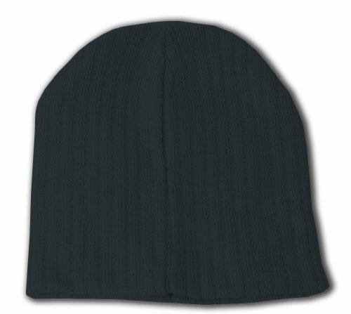 Plain Short Cable Beanie