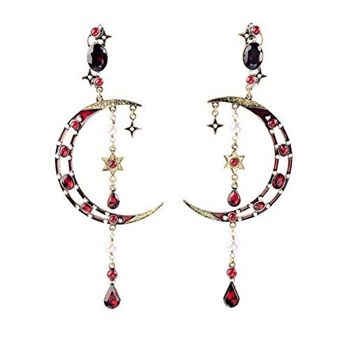 crescent-moon-long-tassel-crystal-stud-earring-54-inch-kaariag-punkin-jewelry