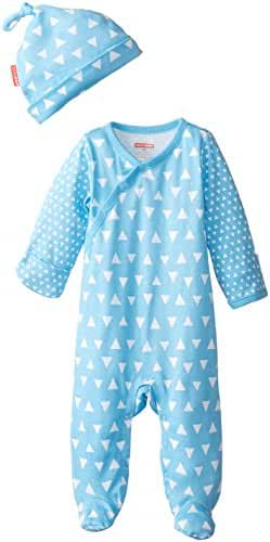 SkipHop Baby Boys' Pop Prints Loungewear Set-Triangles