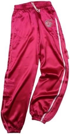 Versace Young Pantalón de Chándal para niña, Color Fucsia, Talla ...