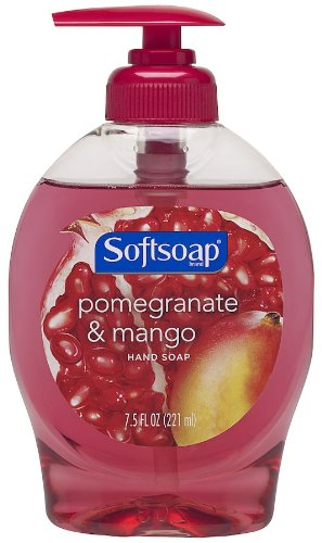 Softsoap Liquid Hand Soap, Pomegranate and Mango - 7.5 fluid