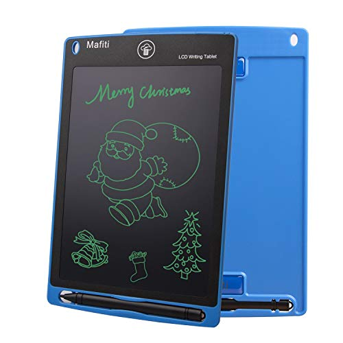 mafiti 8.5 Inch LCD Writing Tablet Scribbling Pad + Stylus Smart Paper for Drawing eWriter Ages 3+ (Blue)