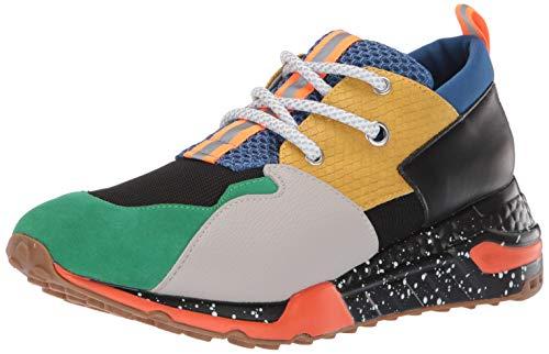 Steve Madden Men's Ridge Sneaker, Bright Multi, 10 M US