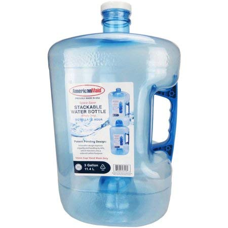 Pack of 6 - Three Gallon Stackable Water Bottle by Generic