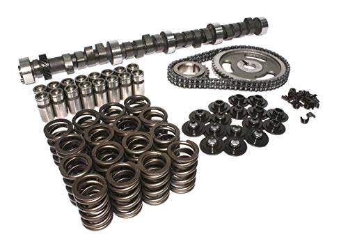 Street Performer 270H Camshaft & lifters, Springs, Timing Kit compatible with Ford Mercury 352 390 428 FE (Torque ()