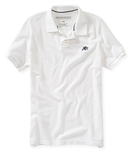 Aeropostale Solid Uniform Rugby Shirt