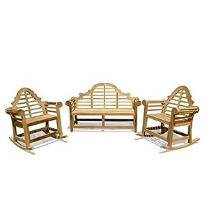 41ArWadZ06L._SS300_ Teak Rocking Chairs For Sale