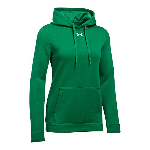 Under Armour Women's Hustle Fleece Hoody - Team Kelly Green - X-Large