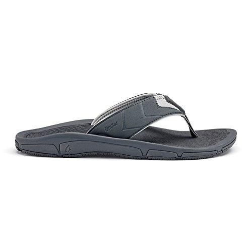 Olukai Hombre de ropa Sandalias Charcoal / Charcoal