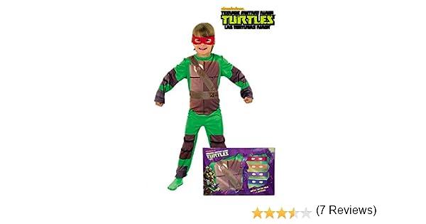 Disfraz de Tortuga Ninja en caja para niño, infantil 5-7 años ...