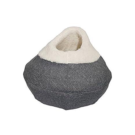 40 Winks cama cubierta de felpa, 27 pulgadas de lujo, visón: Amazon.es: Productos para mascotas
