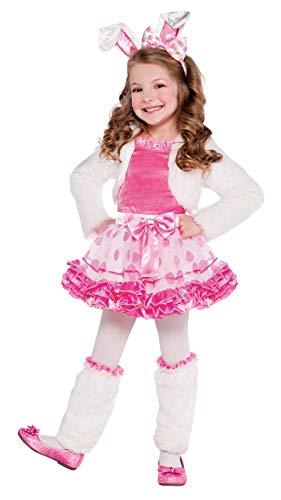 Bunny Honey Child Costume - Girls Honey Bunny Costume - Toddler (3-4)