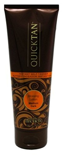 Body Drench Moisturizing Tanning Lotion - Body Drench Quick Tan Lotion Bronzing Medium Dark 8 Ounce (235ml) (2 Pack)
