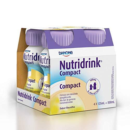 Nutridrink Compact Baunilha Danone Nutricia 4 unidades de 125ml
