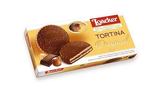 Loacker Cookies, Tortina, 4.41 Ounce (Pack of 12)