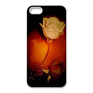 Affection Rose For Iphone 5C Phone Case Cover White