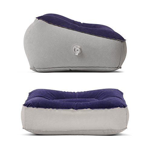 Inflatable Beds With Legs: STYDDI 2 Pack Inflatable Foot Rest Pillow Cushion For