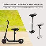 Carrfan-Sella-Regolabile-Regolabile-in-Altezza-per-Xiaomi-M365-Scooter-Elettrico-Skateboard-Cuscino-Sedile-Sella-Accessori-di-Ricambio