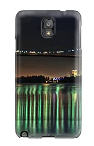 Note 3 Scratch-proof Protection Case Cover For Galaxy/ Hot Vancouver Night Phone Case