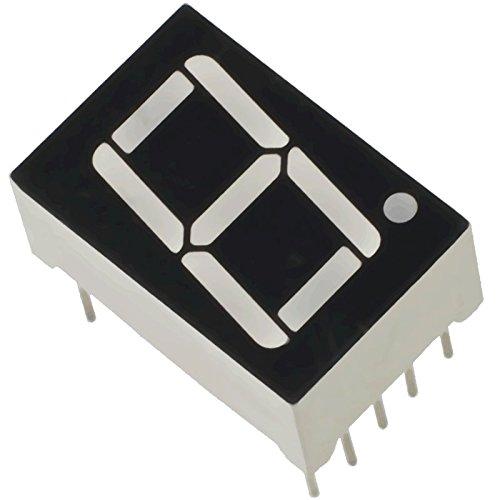 7 Segment Led Display Common Cathode, Pack of 10 by Robokart (B011KPYRHK) Amazon Price History, Amazon Price Tracker