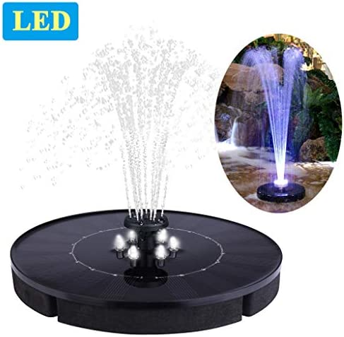 Immuson Fountain Standing Floating Decoration product image