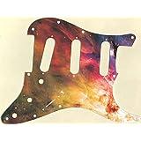 Custom Graphical Pickguard to fit Fender Strat Stratocaster Leopard Print 2