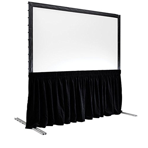 Draper Skirts - Draper C168.160 SKIRT FOR TRIPOD SCREEN 38IN X 99IN BLK POLY-KNIT