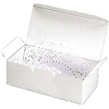 Small Cake Boxes u0026 DOILIES 24 White Small Cake Boxes with 24 Silver Seals u0026  sc 1 st  Amazon.com & Amazon.com: Small Cake Boxes u0026 DOILIES 24 White Small Cake Boxes ... Aboutintivar.Com