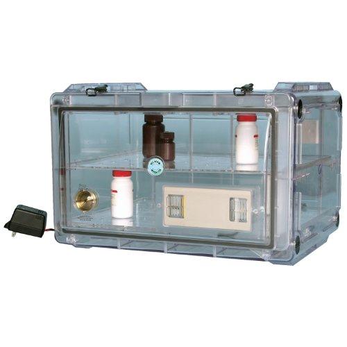 Bel-Art Secador Clear 4.0 Horizontal Auto-Desiccator Cabinet; 100V, 1.9 cu. ft. (F42074-0100)