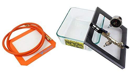 SVac 2.75QT Pyrex Vacuum and Degassing Chamber Best Value Vacs