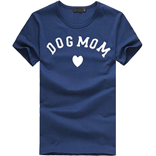TWGONE Dog Mom Shirts for Women Plus Size