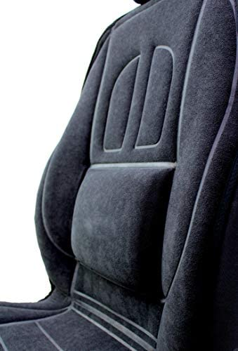 3D Velours Auto Sitzauflage Autositzmatte Sitzmatte Sitzbezüge graphit  1Stk
