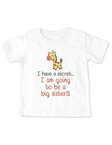I have a secret... I am going to be a Big Sister - giraffe d