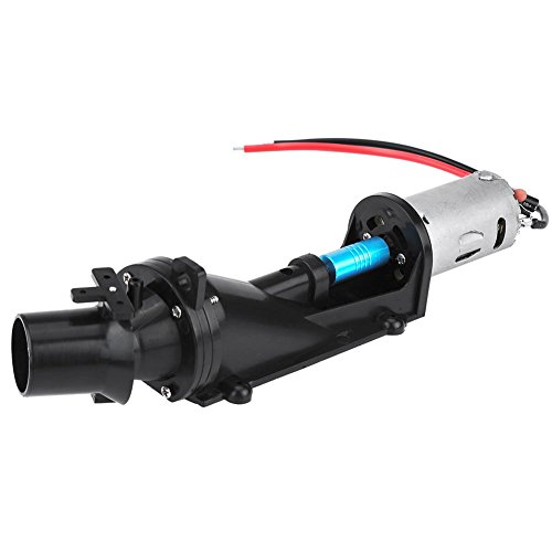 RC Turbo Jet, RC Boat Turbo Jet Part Accessory with Motor Remote Control Accessory DIY Part Set ()