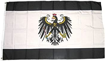 Schlüsselanhänger Flagge Fahne Königreich Preussen Alu 40 x 57 mm