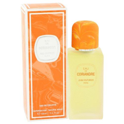 Eau De Coriandre by Jean Couturier Eau De Toilette Spray 100 ml for Women