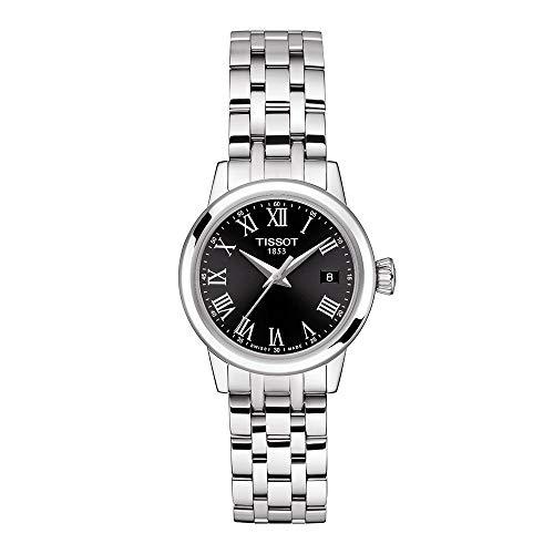 Reloj de vestir Tissot Classic Dream de acero inoxidable para hombre, gris T1292101105300