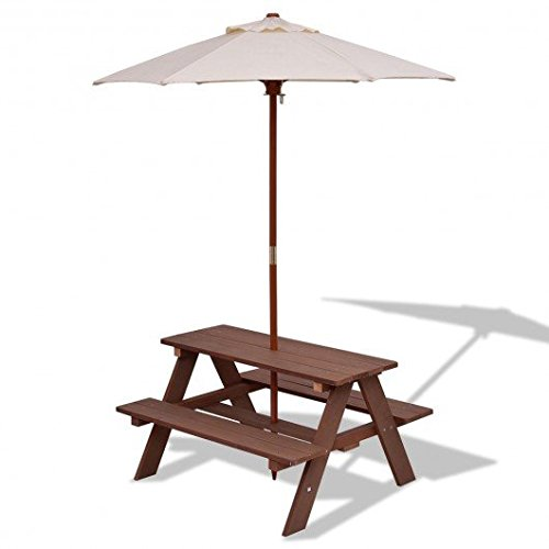 Wood PP, PE, sponge Kid Picnic Table With Ebook by MRT SUPPLY