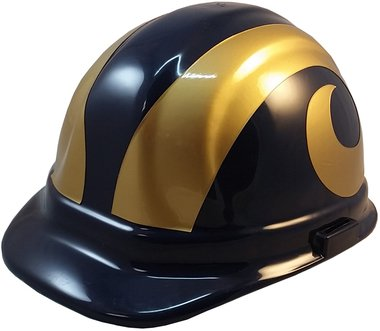 NFL Los Angeles Rams Hard Hats with Ratchet Suspension c8803db96