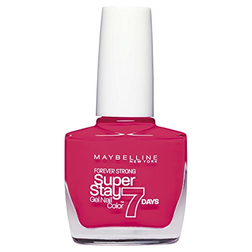 Maybelline Forever Strong Nail Polish 10ml-490 Hot Salsa