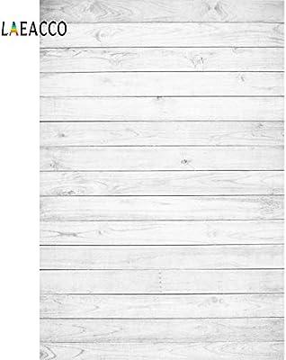 خلفيات فوتوغرافية رقمية لوحة خشبية بيضاء من Laeacco منقوشة صورة