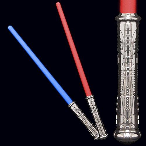 Blue Green Novelty Led Light Up Action Color Changing Sword (Novelty 2 Light Stars)